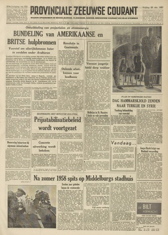 Provinciale Zeeuwse Courant 1957-10-25