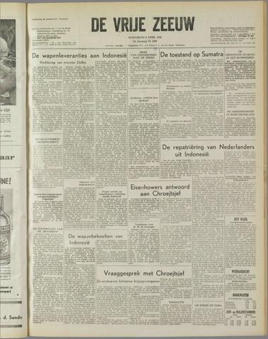 de Vrije Zeeuw 1958-04-09