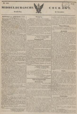 Middelburgsche Courant 1843-12-21