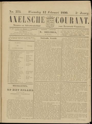 Axelsche Courant 1890-02-12