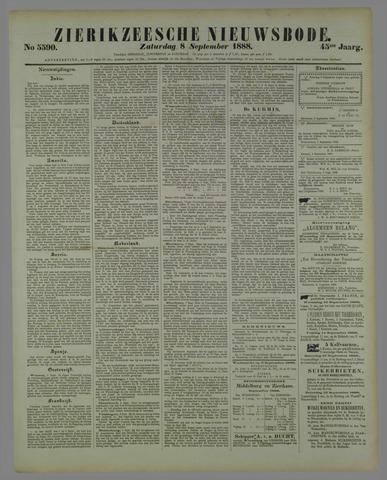 Zierikzeesche Nieuwsbode 1888-09-08