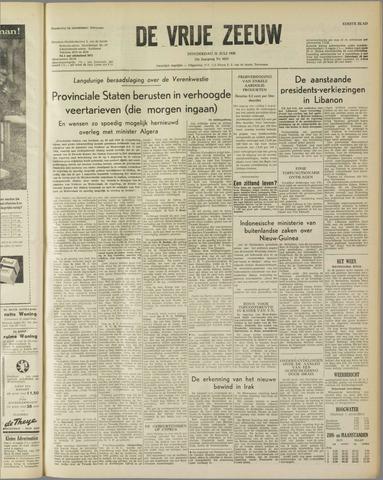de Vrije Zeeuw 1958-07-31
