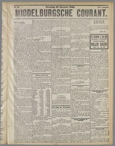 Middelburgsche Courant 1922-01-24