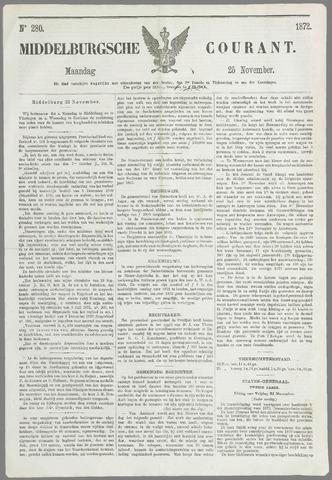 Middelburgsche Courant 1872-11-25