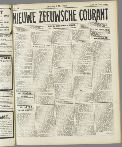 Nieuwe Zeeuwsche Courant 1912-05-07