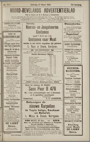 Noord-Bevelands Nieuws- en advertentieblad 1926-03-27
