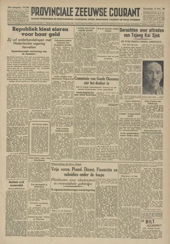 Provinciale Zeeuwse Courant 1948-12-15