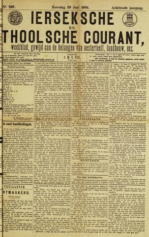 Ierseksche en Thoolsche Courant 1901-06-29