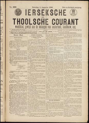 Ierseksche en Thoolsche Courant 1916-08-05