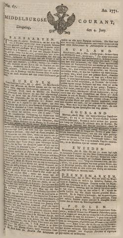 Middelburgsche Courant 1771-06-04