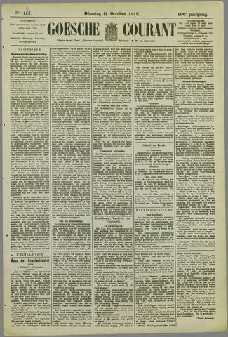 Goessche Courant 1919-10-14