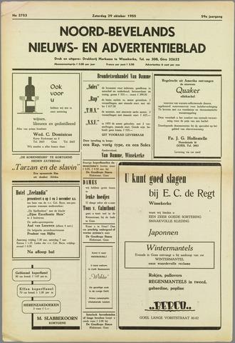 Noord-Bevelands Nieuws- en advertentieblad 1955-10-29