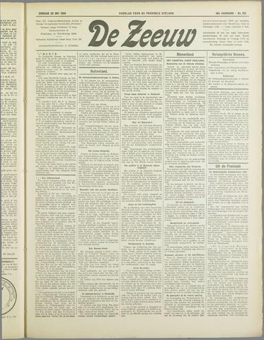 De Zeeuw. Christelijk-historisch nieuwsblad voor Zeeland 1934-05-29