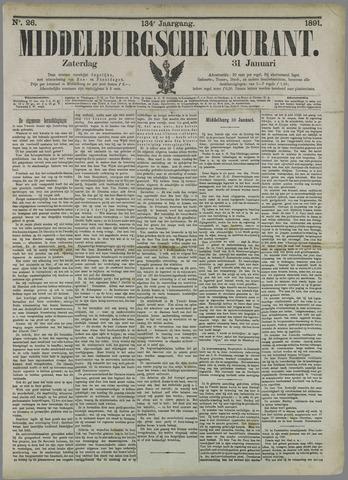 Middelburgsche Courant 1891-01-31