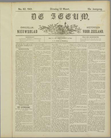 De Zeeuw. Christelijk-historisch nieuwsblad voor Zeeland 1901-03-12