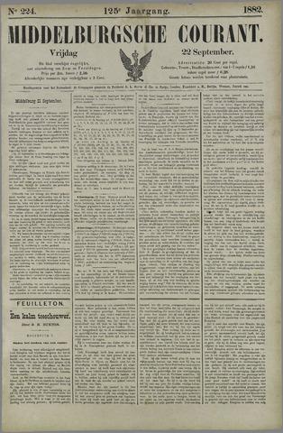 Middelburgsche Courant 1882-09-22