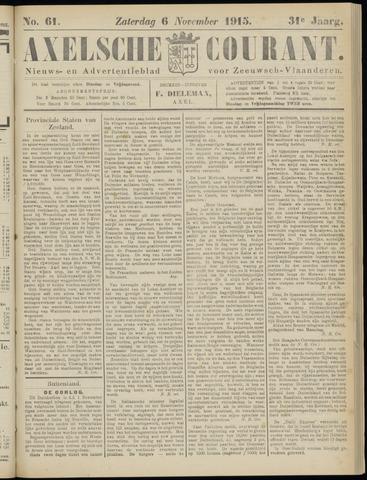 Axelsche Courant 1915-11-06