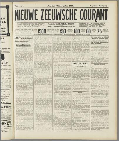 Nieuwe Zeeuwsche Courant 1913-09-23
