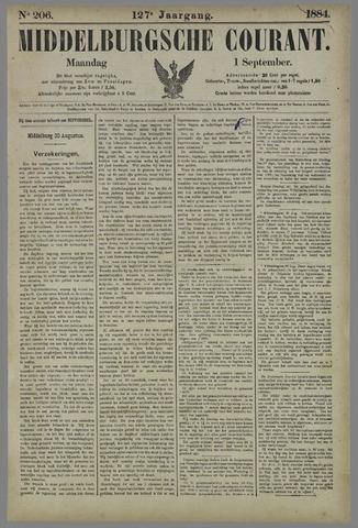 Middelburgsche Courant 1884-09-01
