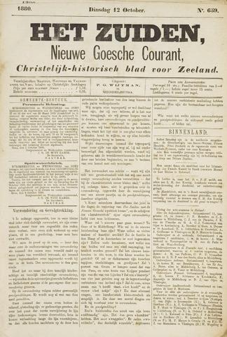 Het Zuiden, Christelijk-historisch blad 1880-10-12