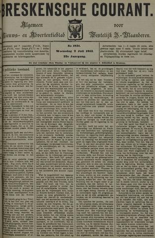 Breskensche Courant 1913-07-02