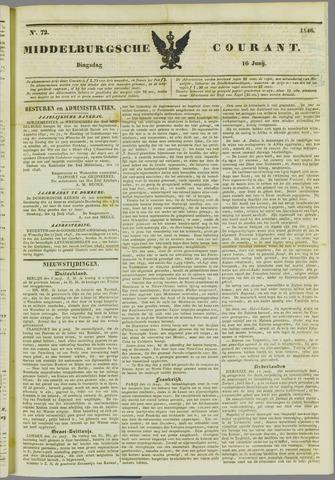 Middelburgsche Courant 1846-06-16