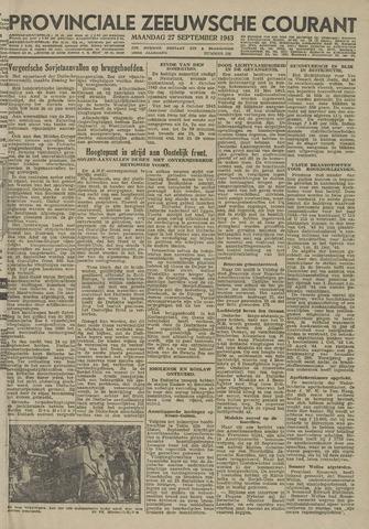 Provinciale Zeeuwse Courant 1943-09-27