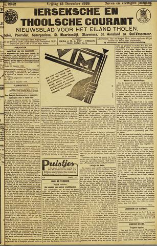Ierseksche en Thoolsche Courant 1929-12-13
