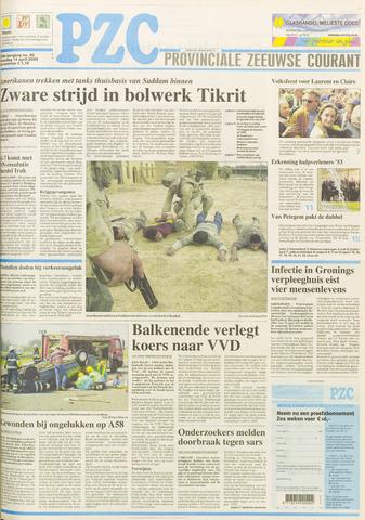 Provinciale Zeeuwse Courant 2003-04-14
