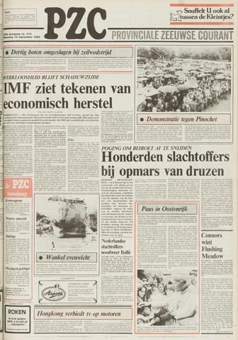 Provinciale Zeeuwse Courant 1983-09-12