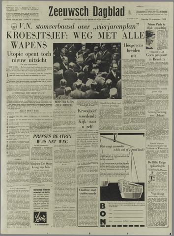 Zeeuwsch Dagblad 1959-09-19