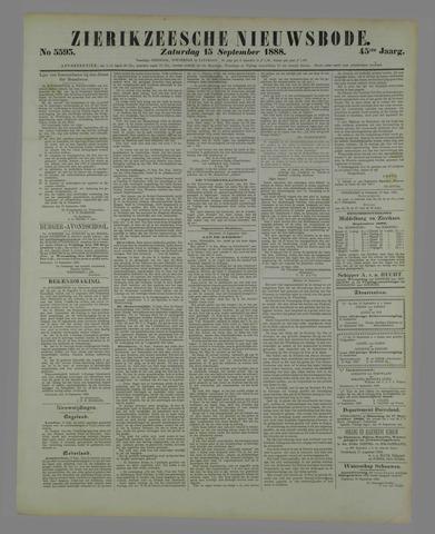 Zierikzeesche Nieuwsbode 1888-09-15