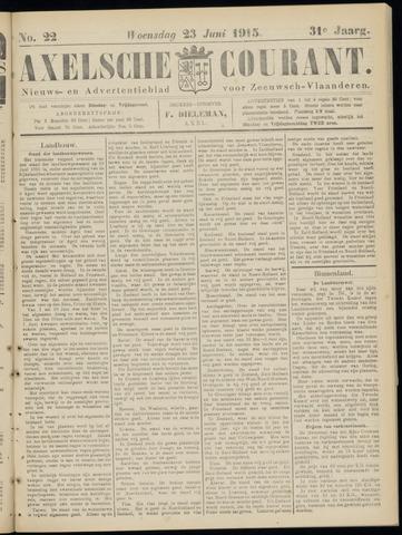 Axelsche Courant 1915-06-23