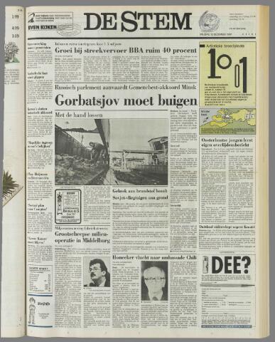 de Stem 1991-12-13