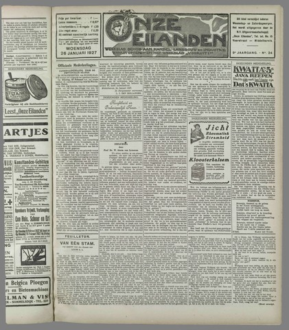 Onze Eilanden 1927-01-26