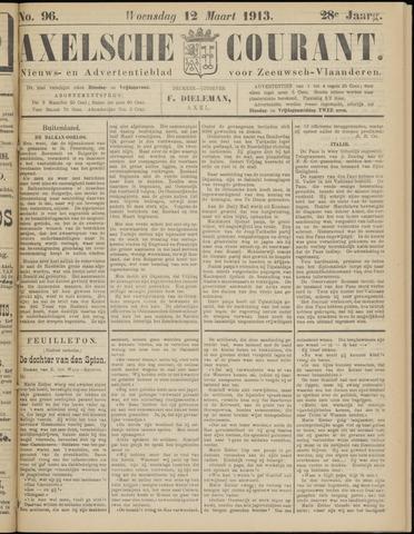 Axelsche Courant 1913-03-12