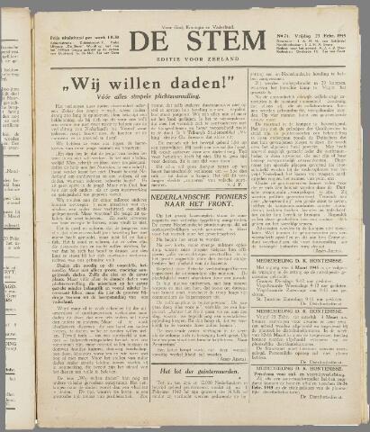 de Stem 1945-02-23