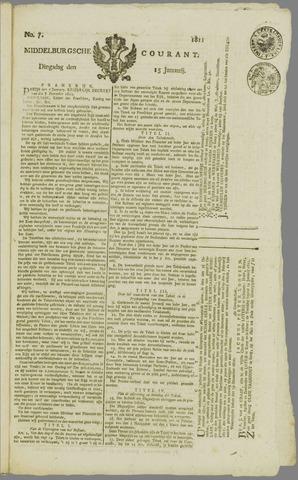 Middelburgsche Courant 1811-01-15