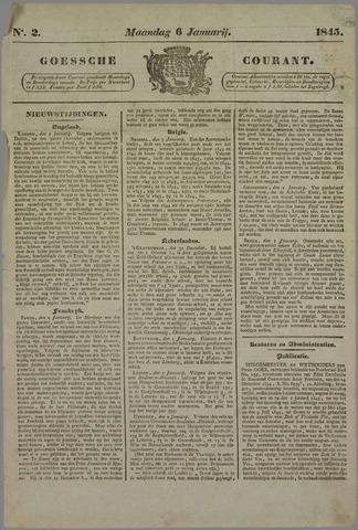 Goessche Courant 1845-01-06