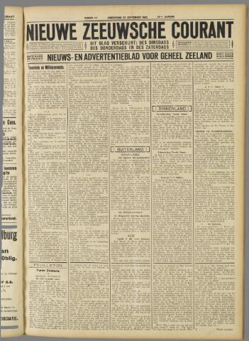 Nieuwe Zeeuwsche Courant 1932-09-22