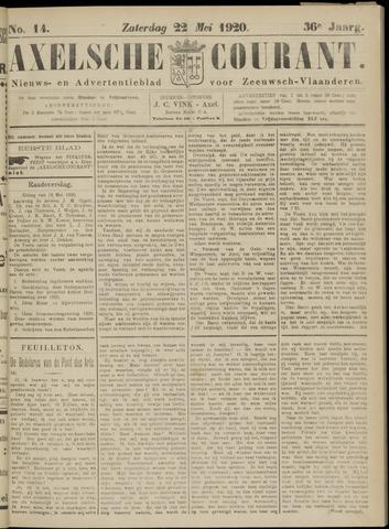Axelsche Courant 1920-05-22
