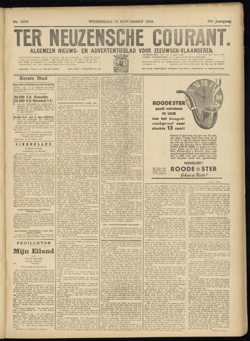 Ter Neuzensche Courant. Algemeen Nieuws- en Advertentieblad voor Zeeuwsch-Vlaanderen / Neuzensche Courant ... (idem) / (Algemeen) nieuws en advertentieblad voor Zeeuwsch-Vlaanderen 1933-11-15