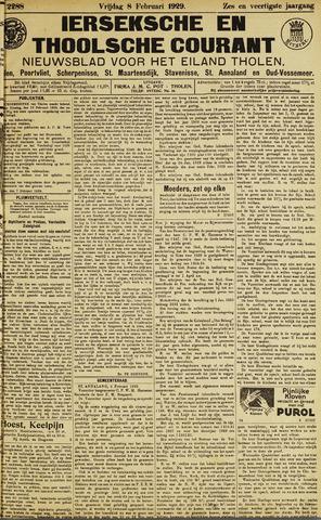 Ierseksche en Thoolsche Courant 1929-02-08