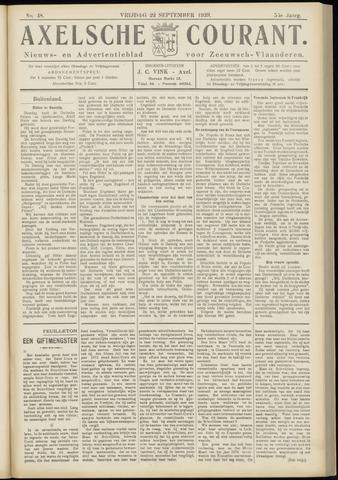 Axelsche Courant 1939-09-22
