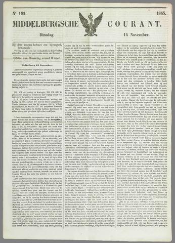 Middelburgsche Courant 1865-11-14