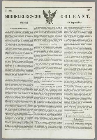 Middelburgsche Courant 1871-09-19