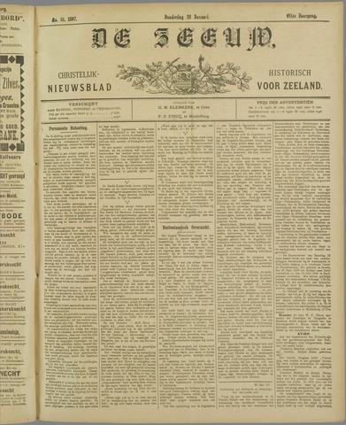 De Zeeuw. Christelijk-historisch nieuwsblad voor Zeeland 1897-01-28