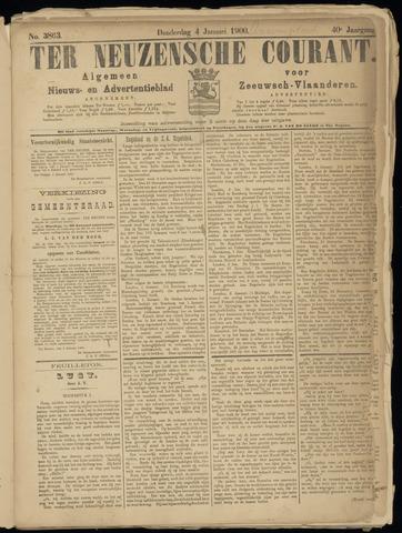 Ter Neuzensche Courant. Algemeen Nieuws- en Advertentieblad voor Zeeuwsch-Vlaanderen / Neuzensche Courant ... (idem) / (Algemeen) nieuws en advertentieblad voor Zeeuwsch-Vlaanderen 1900-01-04