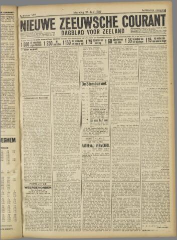 Nieuwe Zeeuwsche Courant 1922-06-26