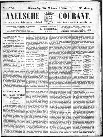 Axelsche Courant 1893-10-25